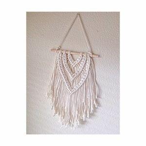Macrame Wall Hanging Crochet Woven Wall Tapestry